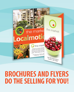 In tri-fold or bi-fold - we can design and print the right brochure for your business or organization!